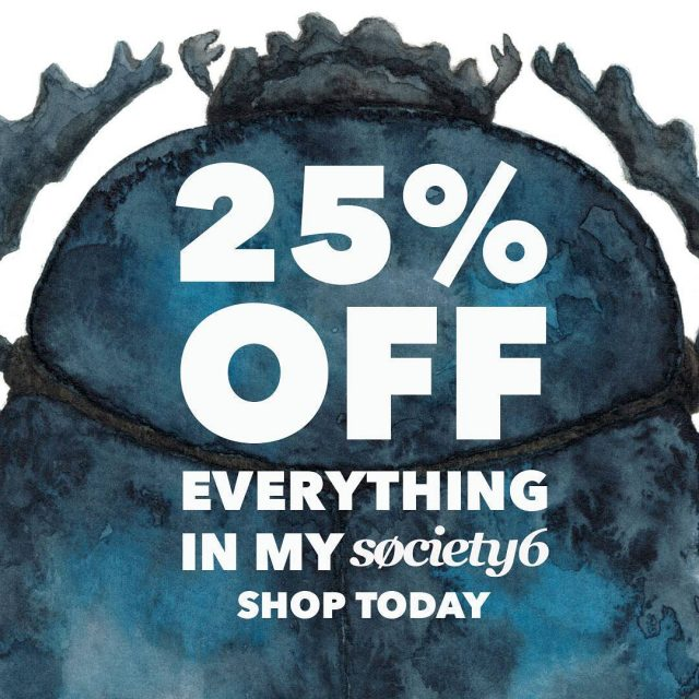 A lot of special offers over at Society 6 thishellip